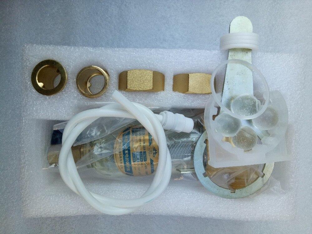 """Frete grátis/reverse flush bronze pré filtro de água 1/2 """"com chave"""