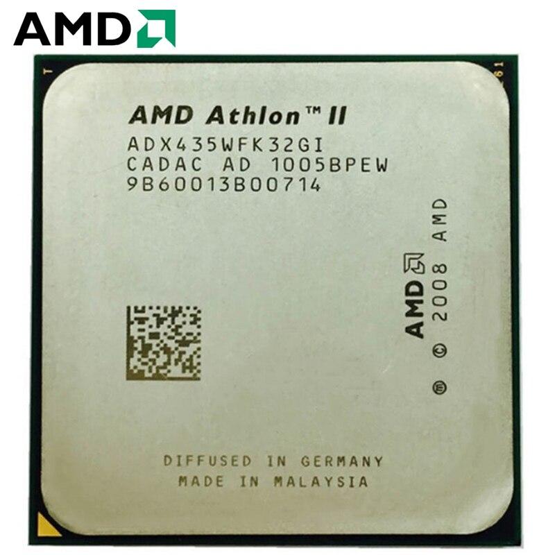-CPU AMD Athlon II X3 435, enchufe AM2 + AM3 95W 2,9...