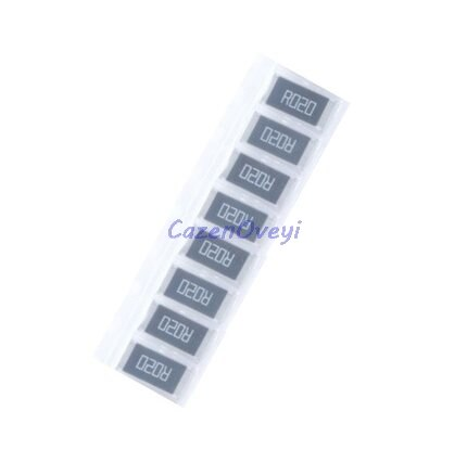 50pcs/lot 2512 SMD Resistor 1% alloy resistor 2W 0.005R 0.005 ohm 5mR R005