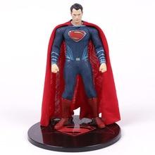 MEZCO Batman v Superman Dawn of Justice Superman 1/12 Scale PVC Action Figure Collectible Model Toy 17cm