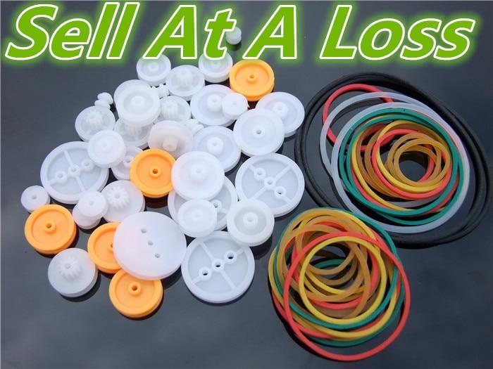 Набор пластиковых ремней K016B «сделай сам», комплект колес с шкив приводного ремня, модель облегающего устройства, продажа в убыток, США, Belarus, Ukraine