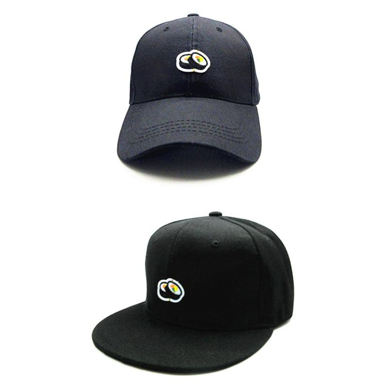 LDSLYJR 2018 Sushi embroidery cotton Baseball Cap hip-hop cap Adjustable Snapback Hats for kids and adult size 148