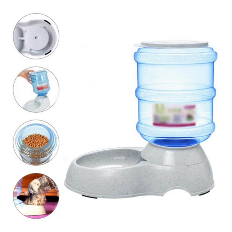 Автоматическая кормушка для кормления домашних животных, автоматическая кормушка для подачи воды для собак и кошек, автоматические кормуш...