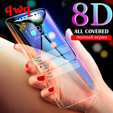 8D Screen Protector For Samsung Galaxy S9 S8 A7 2018 A6 A8 Plus A750 Tempered Glass For Galaxy Note