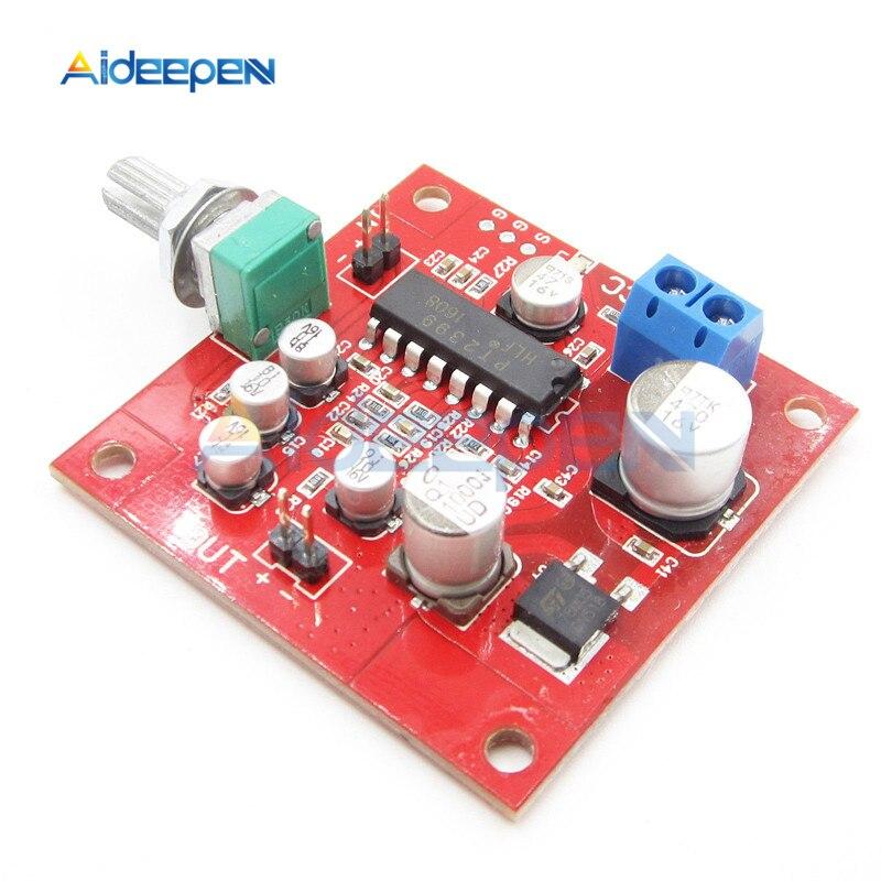 DC 6 V-15 V PT2399 micrófono Placa de reverberación Módulo de placa de reverberación Micro teléfono sin función de amplificador preamplificador