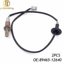 2PCS Front Oxygen Sensor Lambda Sensor For Toyota COROLLA 2001-2008 ZZE121 89465-12640 89465 02220,89465-02220,8946502220