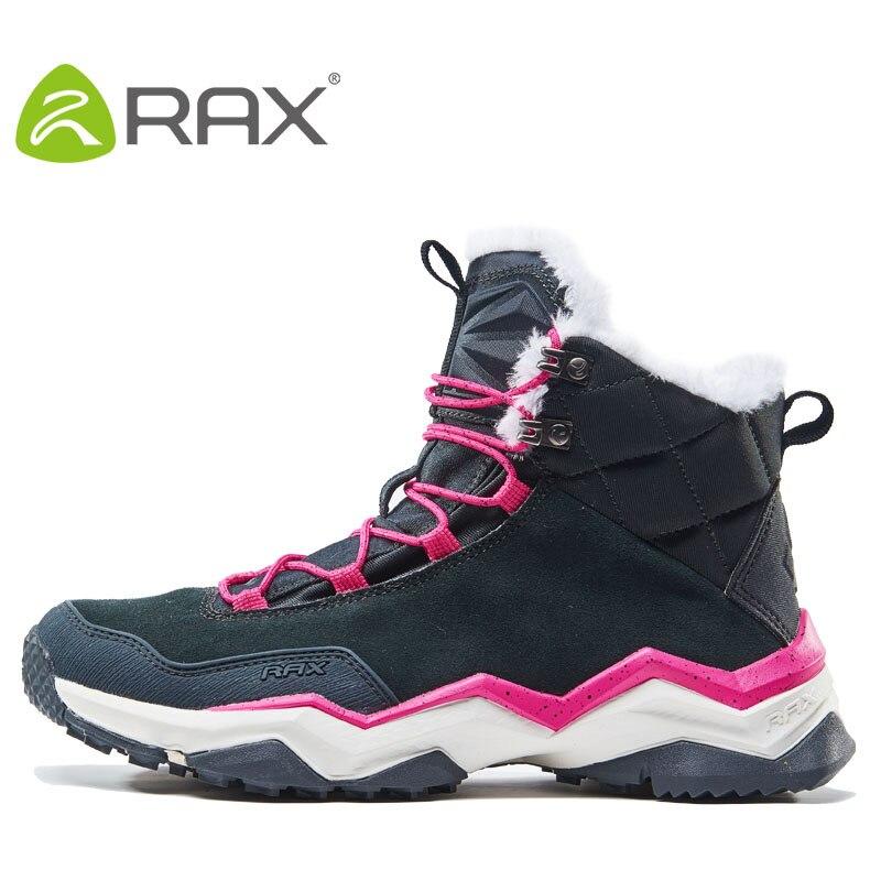 Rax, botas de Invierno para mujer, botas de felpa transpirables antideslizantes para hombre, calzado deportivo AA52333