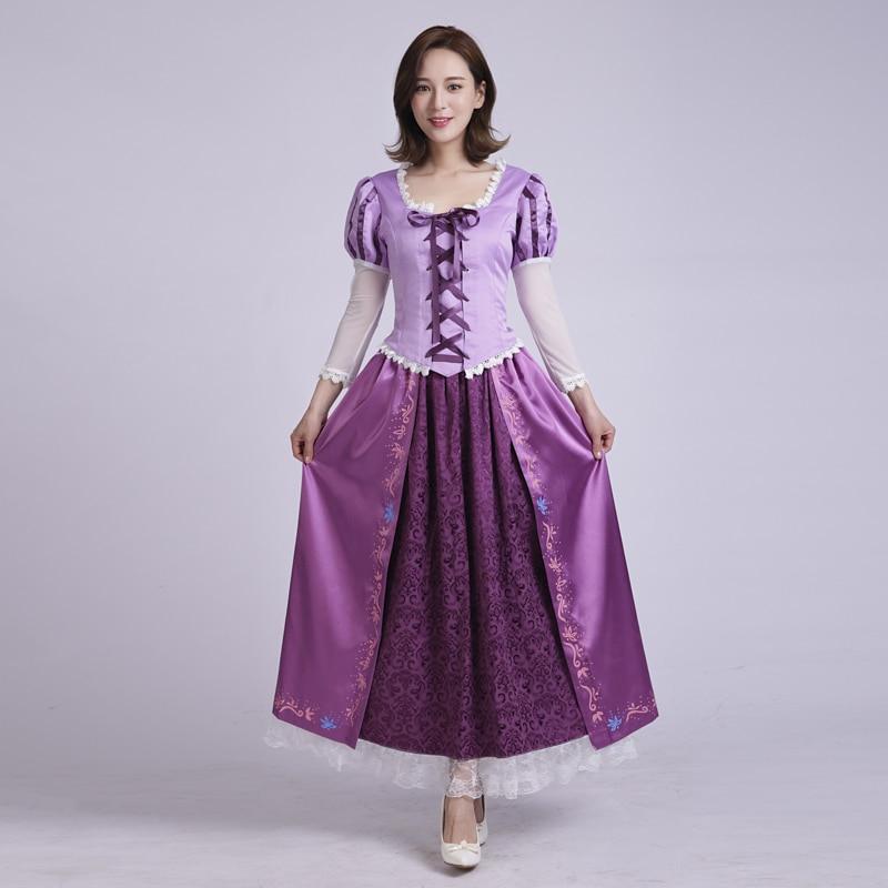 جديد وصول الأميرة تأثيري حلي للكبار فستان مُصمم حسب الطلب للنساء حفلة هالوين