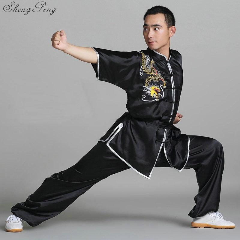 Wushu-ملابس الكونغ فو ، زي الكونغ فو ، ملابس بروس لي ، ملابس الكونغ فو ، تاي تشي ، Q111