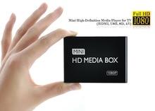 REDAMIGO Full HD 1080P lecteur multimédia lecteur vidéo multimédia boîtier multimédia avec HDMI VGA AV USB SD/MMC mkv H.264 HDDK7