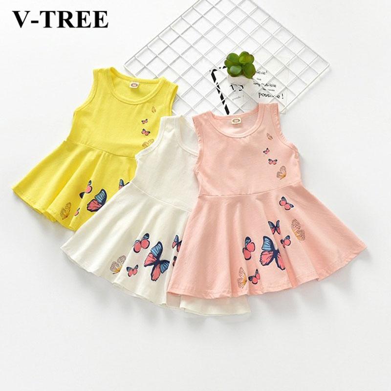 Summer Girls Dress Kids Dresses For Girls Candy Color Children Princess Dress Baby Costume Roupa Infantil Toddler Party Clothing