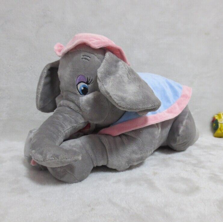 Dumbo la mère éléphant mme Jumbo peluche poupée 38cm Dumbo mère