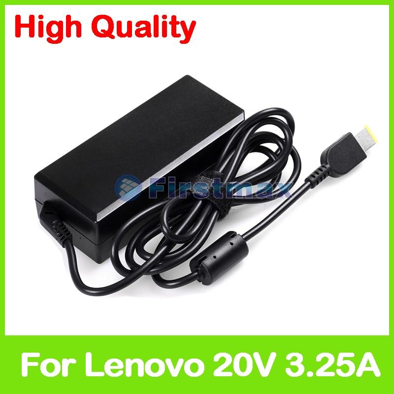 20V 3.25A 65W адаптер переменного тока для ноутбука Lenovo зарядное устройство PA-1650-37LC PA-1650-71 ADLX65SDC2A PA-1650-72 ADLX65NLC3A ADLX65SLC2A
