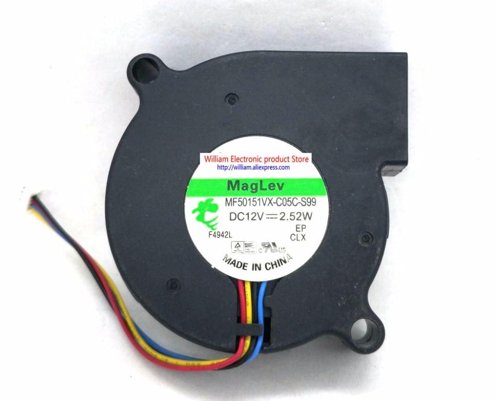 Nuevo y Original MF50151VX-C05C-S99 ventilador de levitación magnética 12V 2,54 W 5015 ventilador de refrigeración FONSONING