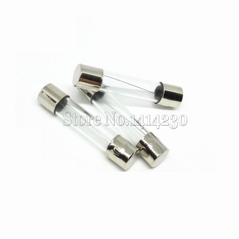 10PC 6x30mm rápido rápida fusible de tubo de vidrio surtido Kit de fusibles de cristal de Fusión Rápida 1A 2A 3A 4A 5A 6A 7A 8A 10A 12A 15A 20A/250V 6*30
