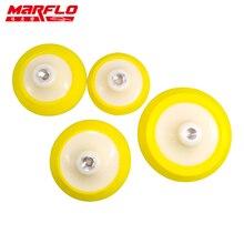 Marflo plaque support pour polisseuse M14 avec tampon éponge de polissage 4