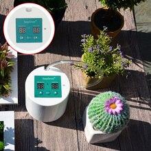 Dispositivo de riego automático de jardín inteligente suculentas planta de riego por goteo herramienta de bomba de agua temporizador con sistema de control de goteo