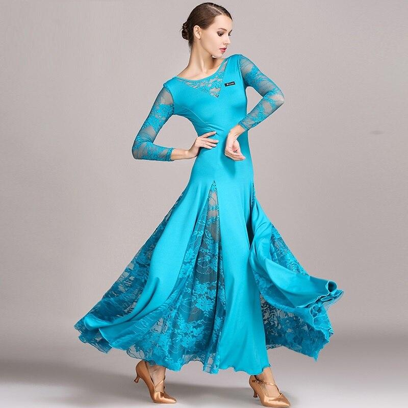 New Arrival sukienka do tańca towarzyskiego Tango/Waltz taniec garnitur pani standardowy taniec towarzyski kostiumy dziewczyny wydajność garnitur B-6060