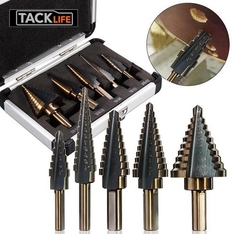 Perforadora de diamante negra brillante de acero de alta velocidad, broca de sierra, taladros, taladro eléctrico duradero para pared de ladrillo