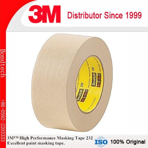 1 X 55 M 3 M 232 Alta Performance Scotch Fita Adesiva para operações de Média temperatura cozer pintura