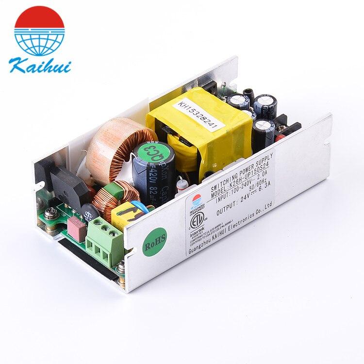 Tamaño pequeño salida única 5 V 20A fuente de alimentación Led cabeza móvil fuente de alimentación con función PFC