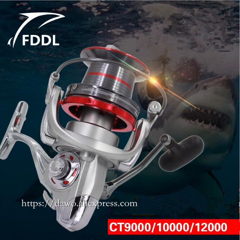 12000/10000 type Full metal 14+1 BB Specialized Fishing big fish without clearance fishing Reel 4.0:1 distant wheel fishing reel enlarge