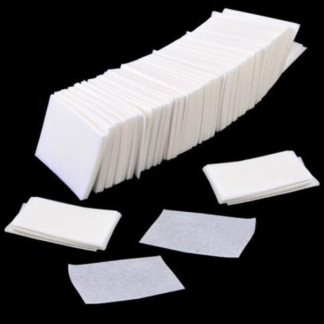 400/800Pcs Lint Wipes Nail Polish Acrylic Gel Remover Towel Paper Cotton Pads Roll Salon Nail Art Cl
