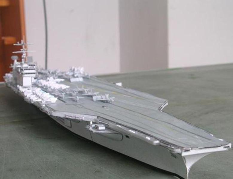 Kit de modelo de papel modelo portaaviones USS Truman clase Nimitz