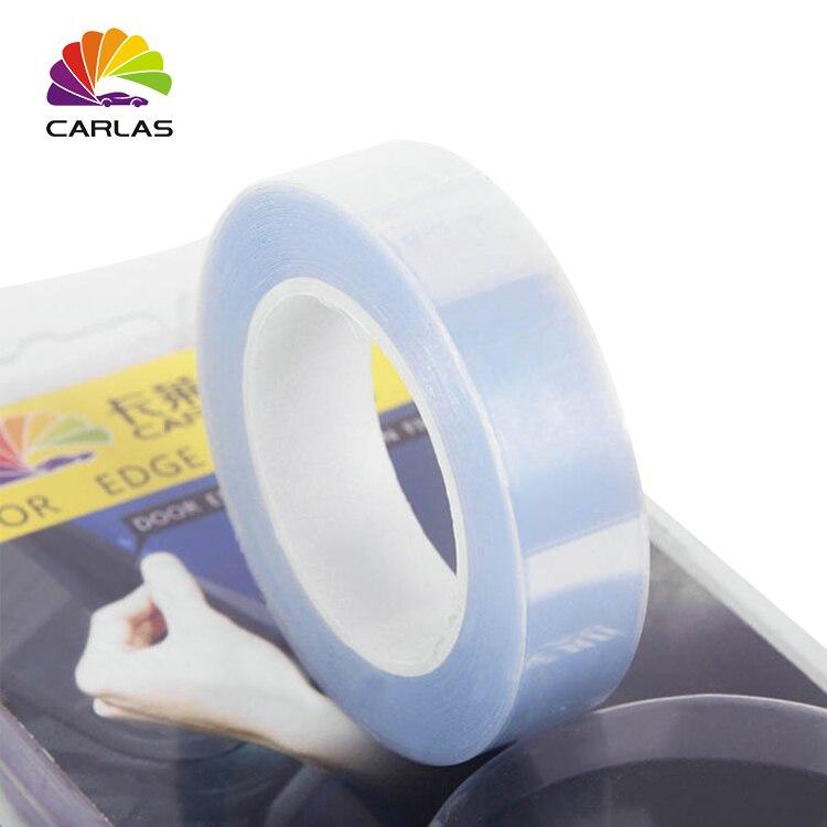 1,5 см x 5 м прозрачная универсальная невидимая Защитная пленка для автомобильных ручек Автомобильный капот, бампер краска прозрачная пленка ...