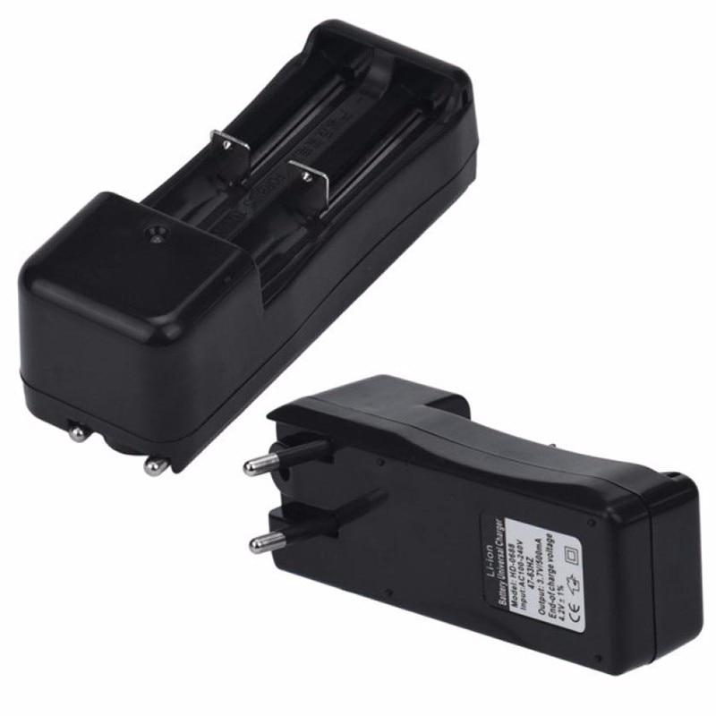 CARPRIE 2018 nuevo Cargador de Batería Dual Universal para 18650 16340 26650 recargable 3,7 V Li-ion EU 18650 cargador de batería #30