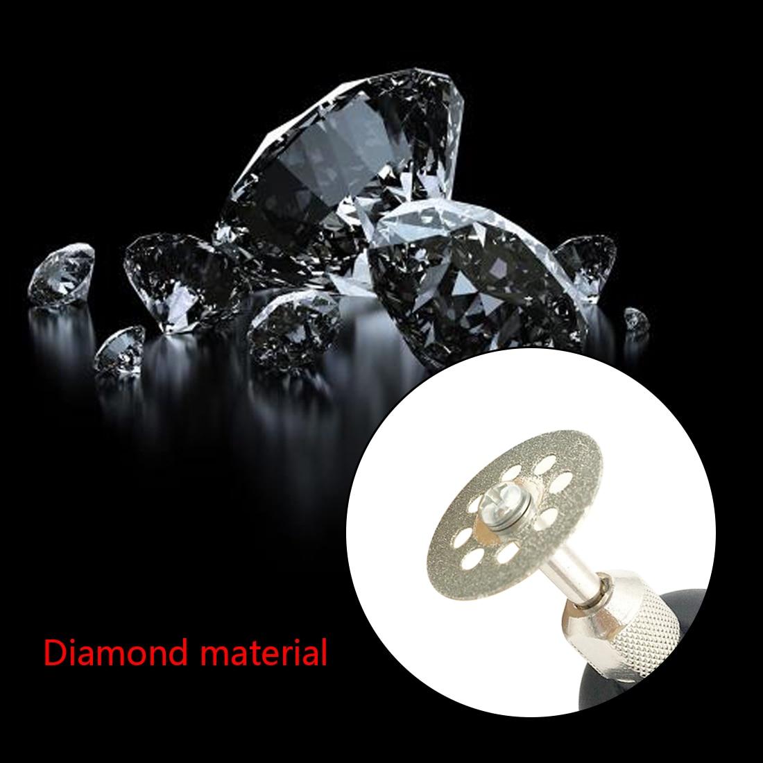 Disco abrasivo 10 pezzi / 5 pezzi Mola diamantata Dremel sega da - Utensili abrasivi - Fotografia 4