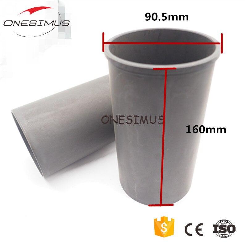 OEM 8-97176-728-0 4 piezas STD motor cilindro manga (cigüeñal) forro 84,5*90,5*160mm para isuzu 4HE1