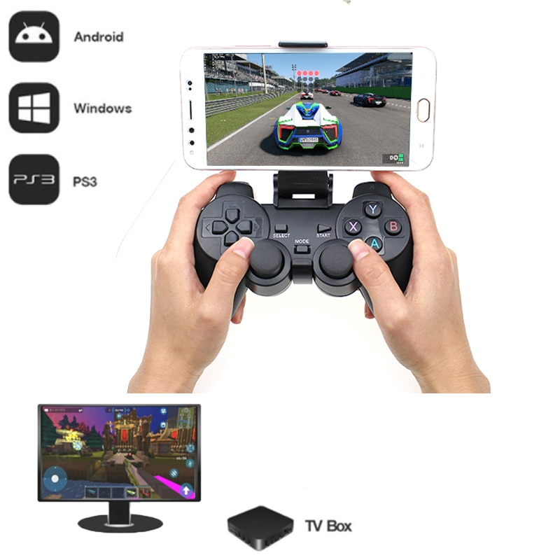 AliExpress - 2.4G Wireless Gamepad For PS3 Android Phone TV Box PC Joystick For Xiaomi OTG Smart Phones Game Controller Remote Joypad