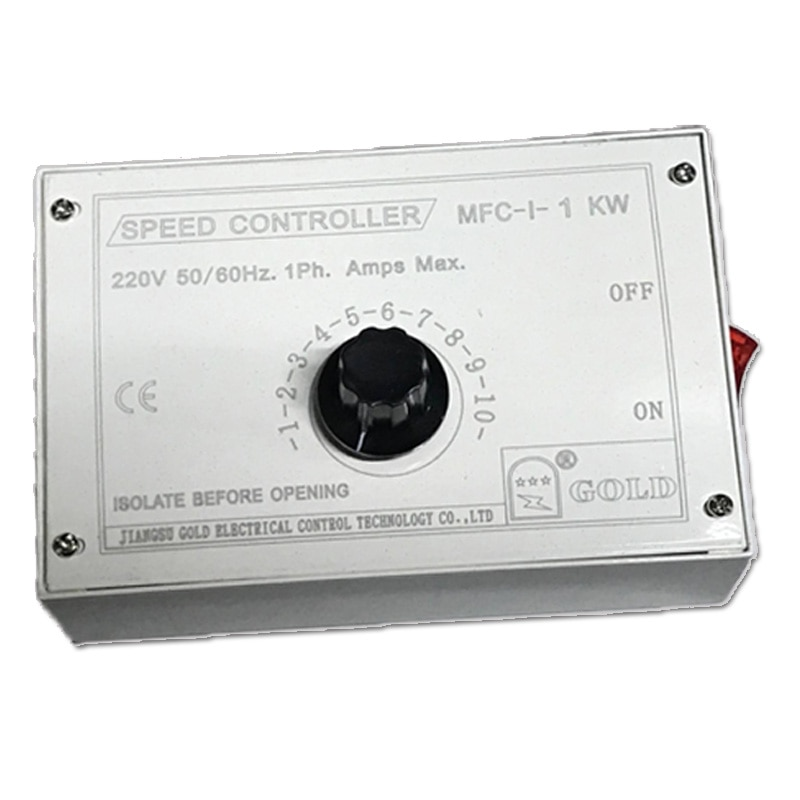 Фото - Single phase fan speed controller MFC-I-1KW direct power 1KW henk wahlstrom die apokalypse phase i
