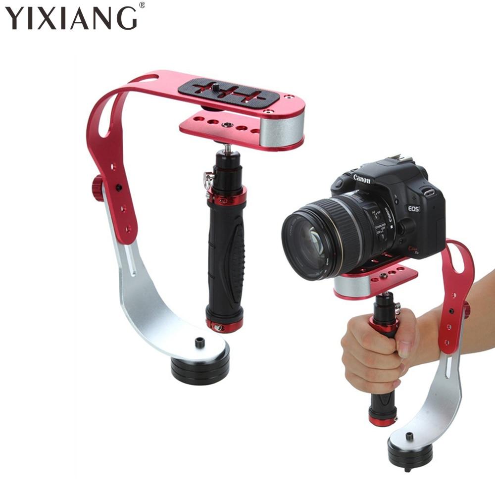Yixiang handheld estabilizador de vídeo câmera steadicam estabilizador para canon nikon sony câmera gopro hero telefone dslr dv DSL-04