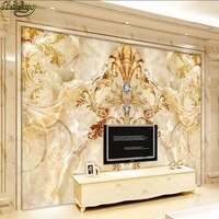 beibehang sapphire fashion european pattern marble pattern background wall custom photo wallpaper large mural wall stickers