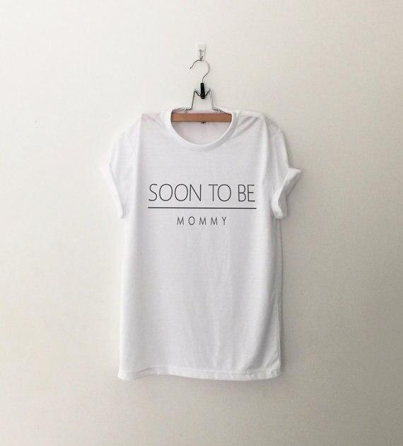 Camiseta gráfica para mujer, regalo de mamá futura, regalo de embarazada, regalo de mamá embarazada, nuevo regalo de mamá para wife-C538