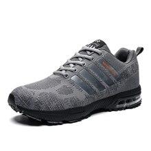 2019 neue Luftpolster Laufschuhe Schuh Männer Frauen Hohe Qualität Paar Weben Sneaker Atmungs Heißer Sport Schuh Sportlich Wandern Trainer