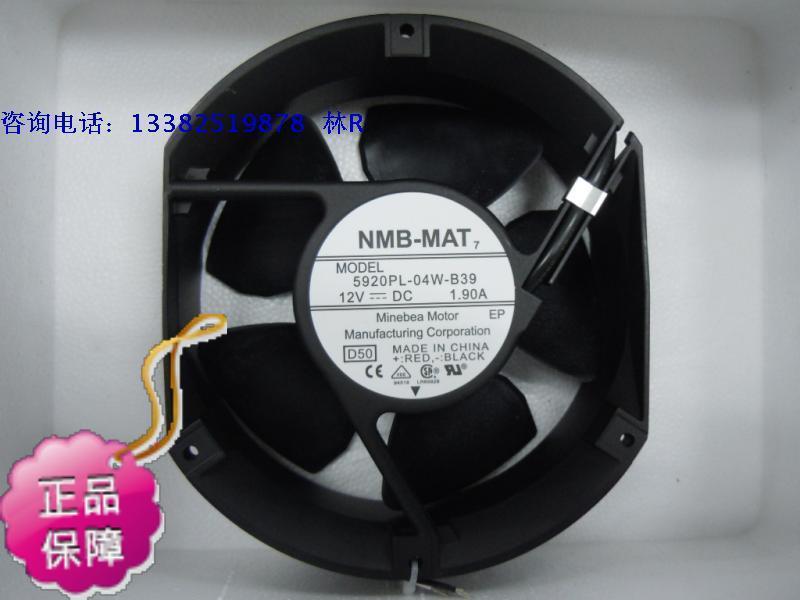 Nuevo NMB-MAT ventilador de refrigeración NMB 5920PL-04W-B39 17251DC12V