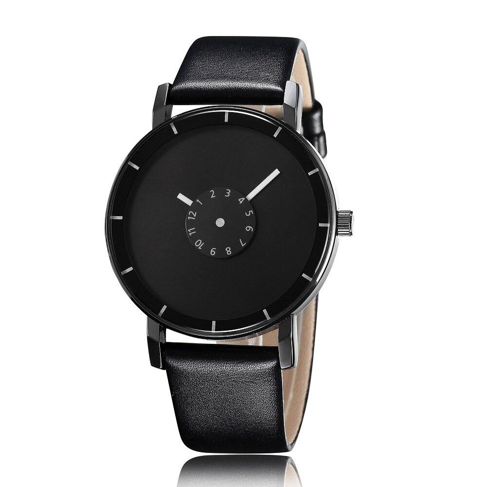 Top Fashion Luxury Brand Bracelet Watches Women Men Casual Quartz Watch Leather Dress Wristwatch 8O9