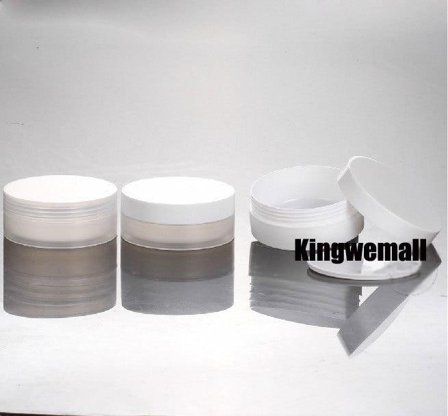 Wholesale 300pcs/lot Capacity 10g 10ml Empty PP Plastic  Cream Jar For Cosmetic Packaging