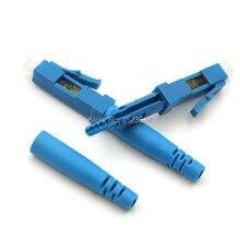 Бесплатная доставка 10 шт./лот FTTH волоконно оптический кабель LC Быстрый разъем LC/UPC быстрый разъем