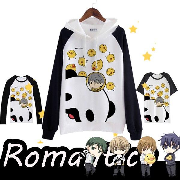[STOCK] Anime Junjou Romantica camiseta cosplay de lana con capucha S-XXL Jersey Top Tee Unisex envío gratis