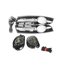 For VW Passat B6 2006 2007 2008 2009 2010 2011 LED DRL Daytime Running Light Waterproof With Harness Fog light