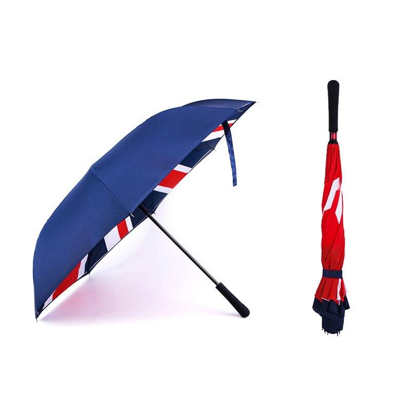 Marca nueva Unión Jack paraguas de estilo para Mini Cooper R55 R56 R60 R61 F54 F55 F56 1 unids/set