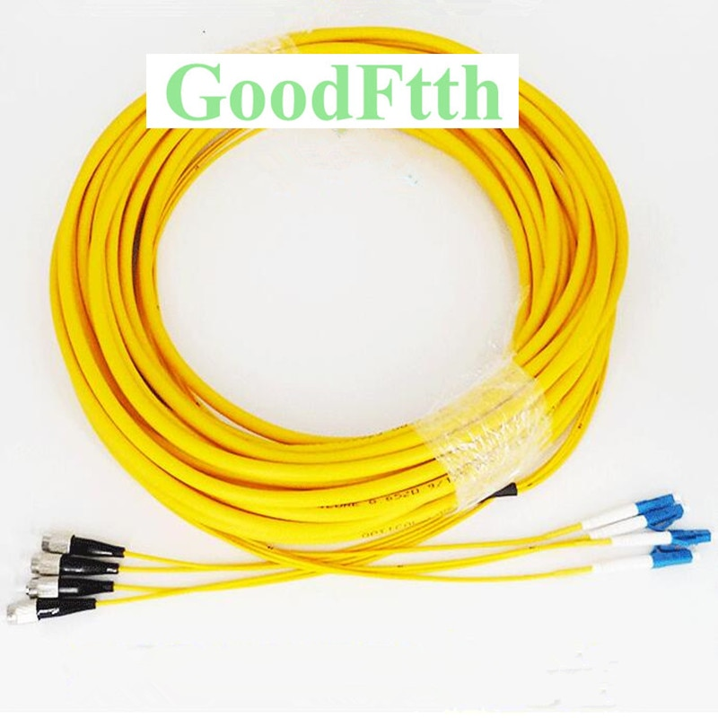 Patch Cord FC-LC LC-FC UPC SM Trunk Breakout 4 Cores 2mm GoodFtth 1-15m enlarge
