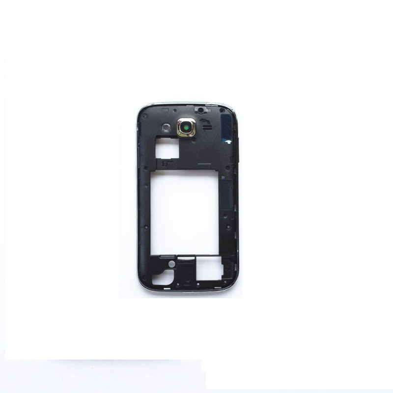 for Samsung Galaxy Grand Neo I9060 Dual SIM Card White/Black Color Rear Back Frame Middle Cover