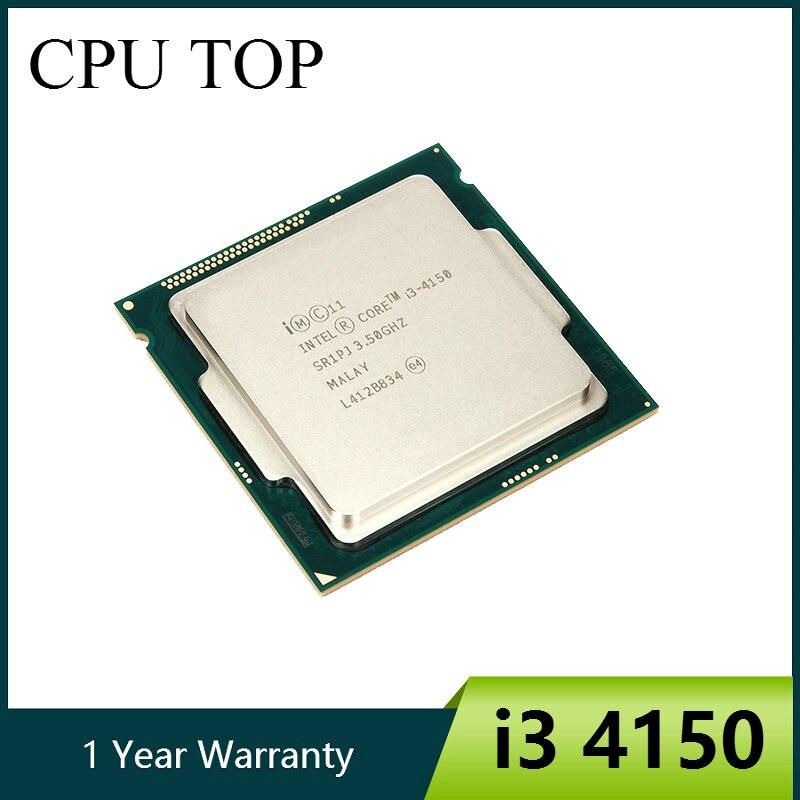 Двухъядерный процессор Intel Core i3 4150 3,5 ГГц LGA 1150 TDP 54 Вт 3 Мб кэш-памяти