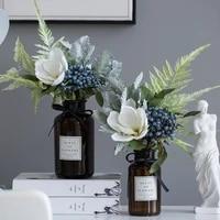 nordic fresh silk flower artificial flower living room vase ornament decoration table flower ornament