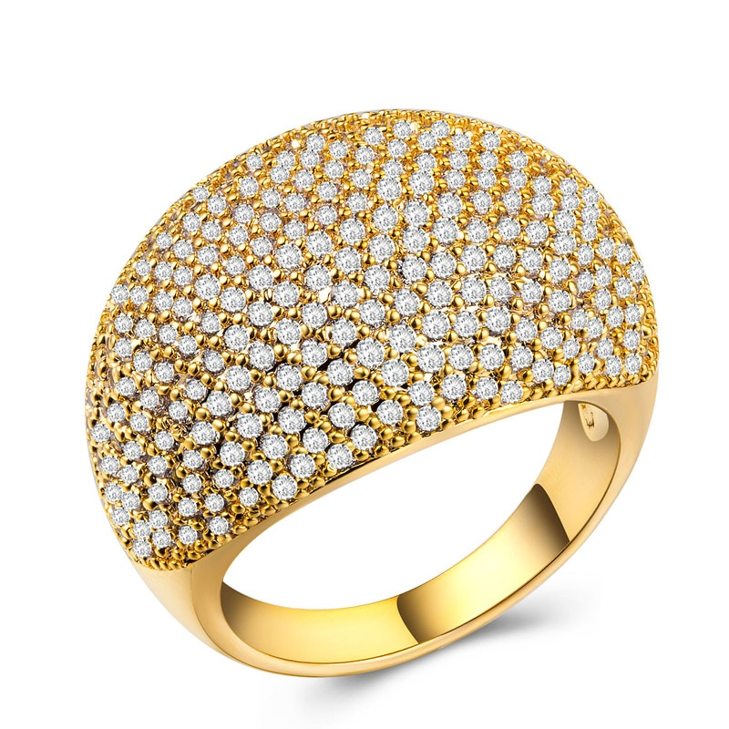 925 jóias de prata esterlina anel de diamante aço inoxidável jóias indianas masculinas tesouro cheio de zircão anel de ouro rosa b1041
